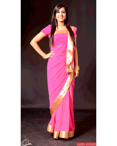 Saree rose Gold