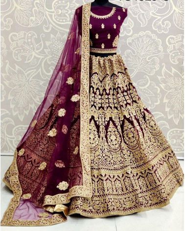 Lehenga choli violet Gujarat