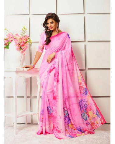 Saree flower rose