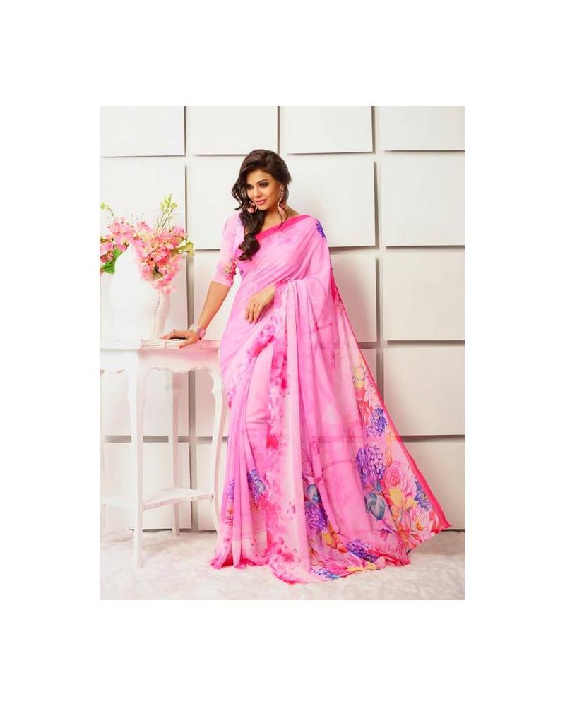 Saree flower rose