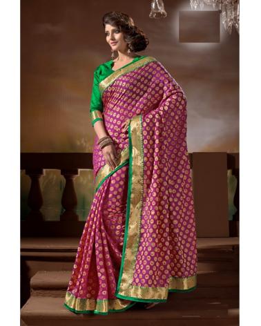 Saree fashion violet Shilpi