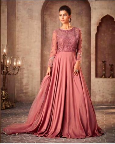 Robe indienne rose céleste Shine