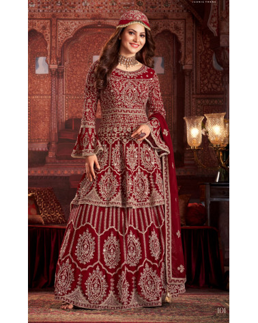 Salwar kameez rouge Sultan