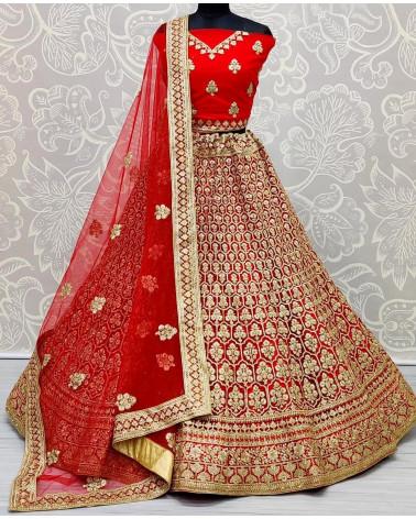 Lehenga choli rouge Mumbai