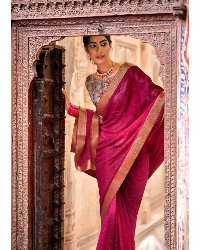 Saree rose Kashvi